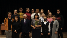 25 февраля 2021 года в Курском колледже культуры состоялась встреча с писателями Соловьиного края