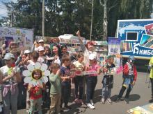 8 июня члены Лиги Курских писателей Татьяна Страхова и Галина Конева приняли участие в мероприятии, организованном областной детской юношеской библиотекой в районном центре г. Суджа.
